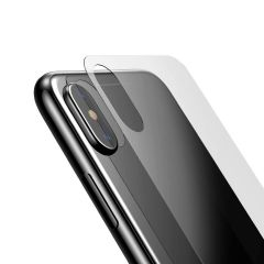 """Baseus Back Cover Tempered Glass Film for iphone X 5.8"""" Screen Protector Ultra Thin 0.3mm Glass Back Screen Protector for iphone X"""