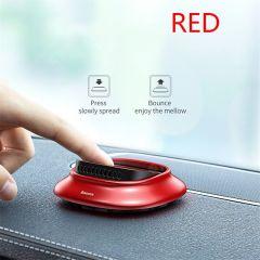 Baseus Aromatherapy Car Holder Air Freshener Auto Air Outlet Perfume Air Freshener -Red