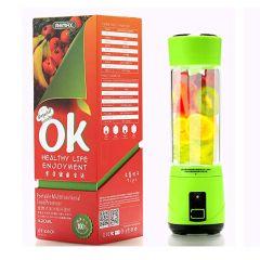 Genuine Remax  RT-K601 Portable Rechargeable Multifunction Food Processor Juice Mixer Blender 420 ml