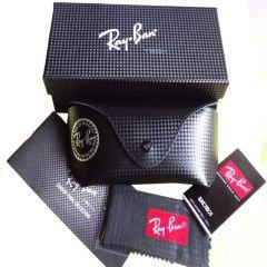 Ray Ban Tech Carbon Fiber Case Storage Box for Sunglasses