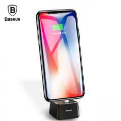 Baseus SUGENT-YF09 Charging Desktop Stand Holder For iphone 5s 6s 7 8 Plus & iPHONE X With Charger Cable