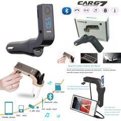 CARG7 Bluetooth Car Charger FM MP3 Transmitter USB Handsfree Mobile Aux Modulator