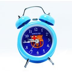 Barcelona FC Twin Bell Table Watch Alarm Clock