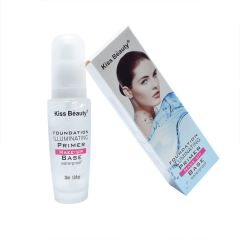 Kiss Beauty Foundation Illuminating Primer Make-Up Base Waterproof 30ml