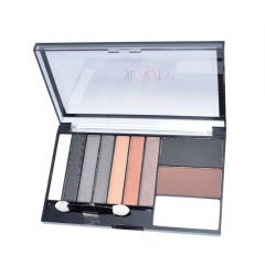 Huda Beauty Eyeshadow And Blusher Eye Face Make-Up Set Kit & Palette - 1