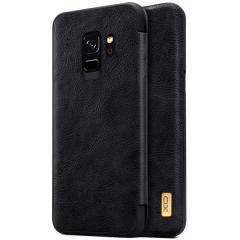 Samsung Galaxy S8 & S8 Plus Creative Design Leather  Flip Case Cover Black