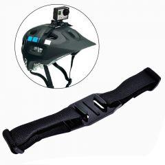 Helmet Strap Bicycle Helmet Belt Mount Accessories For Go pro Hero 3 4 SJCAM Sj4000 Sj5000 Xiao Mi Yi Action Camera
