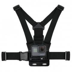 Gopro Body Chest Mount Harness Belt Strap  For GoPro Hero 4 3+ 3 2