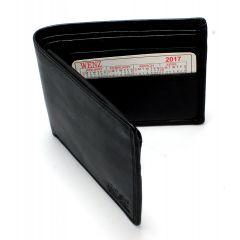 Genuine Leather Wallet For Men Black