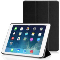 Black PU Leather Smart Case Cover for Apple iPad Mini 4