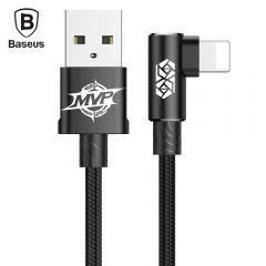Geniune Baseus MVP Elbow USB Cable Fast Charging Charger Date Cables For Apple iPhone