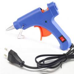 JMD Hot Glue Gun 80W Electric With 5Pcs Glue Sticks