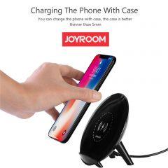 Joyroom Desktop Bracket Qi Wireless Charger For Smartphones JR-K10  Black