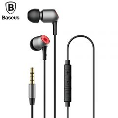 Baseus Encok Wired H02 in-Ear Earphone Bass Headphones For All 3.5mm Jack Mobile Phones
