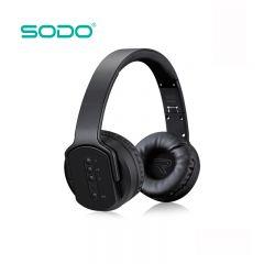 Sodo MH2 Bluetooth 2 IN 1 Twist-Out Speaker & Wireless Headphone Headset