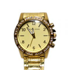 Michael Kors Gold-tone Analog Watch for Woman