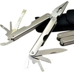 Portable Multifunction Stainless Steel Pliers Gift Multitool