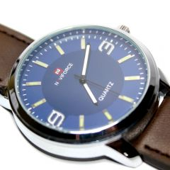 Navifore Analog Watch For Gents Black Dial