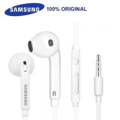 SAMSUNG EO-EG920BW Earphones Wired 3.5mm with Mic 1.2m In-ear Stereo Sport Earphones for Samsung S8 S8Edge