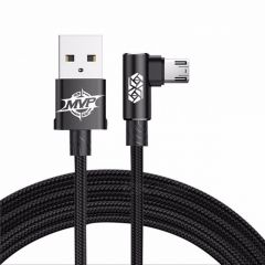 Genuine BASEUS MVP Elbow 2A Micro USB Data Sync Charger Cable 1m for Samsung Huawei Xiaomi