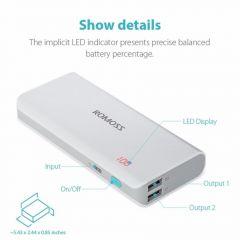 ROMOSS PH50 Sense 4 LED 10400mAh Power Bank