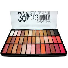 Seven Cool Eyeshadow Palette 39 colors Shiny and Matte