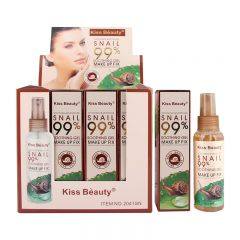 Kiss Beauty Soothing & Moisture Snail Soothing Gel Make-Up Fixer