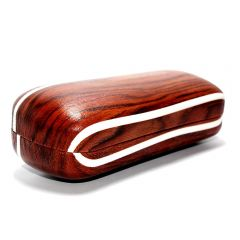 Stylish Sunglasses Storage Box with Wooden printed