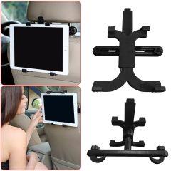 """Universal Car Seat Headrest Backrest Mount Holder For  7 - 14 """" Tablets"""