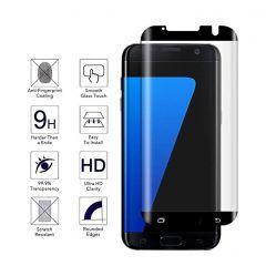 Full Edge Full Glue Tempered Glass Screen Protector For Galaxy  S7 Edge