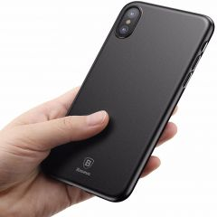 BASEUS Ultra Thin Slim Light PP Protective Skin Back Cover Case For iPhone X