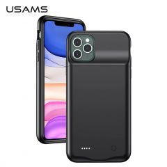USAMS 4500mAh Battery Charger Case For iPhone 11 Pro Max
