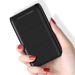 Usams US-CD99 PB36 5000mAh Mini Power Bank with Holder And Cable