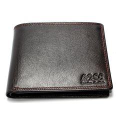 Genuine Leather Wallet For Men Dark Brown