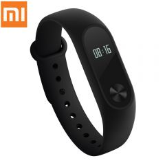 Original Xiaomi Mi Band 2 Smartband for Android iOS- BLACK