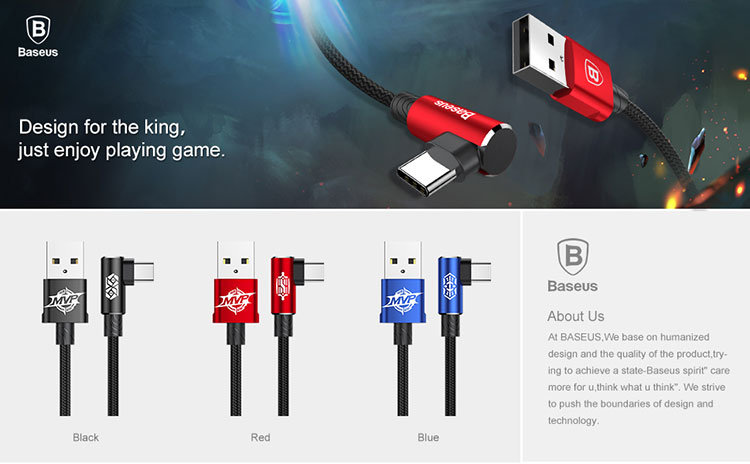 Baseus MVP Type-c  Cable For Samsung