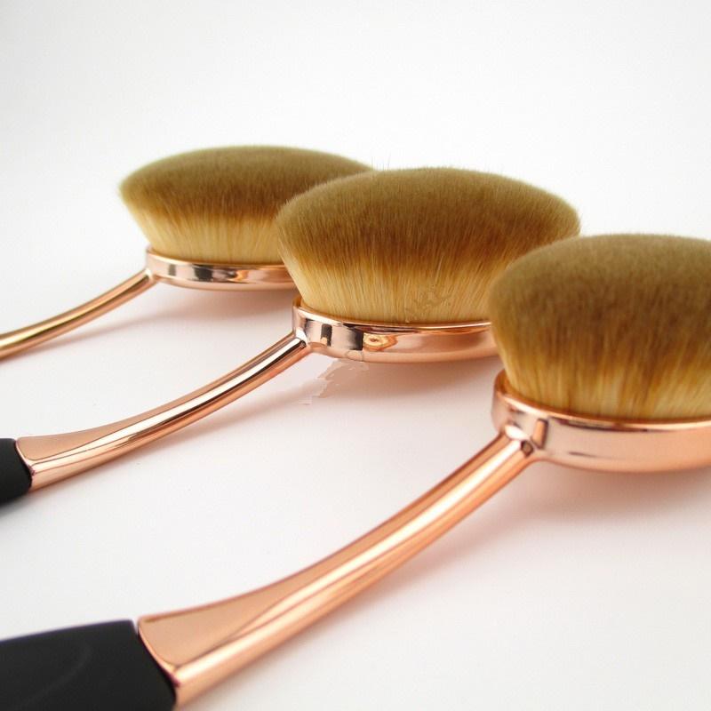 Kylie Newest Professional Oval makeup Brush Set 6 Piece/Set