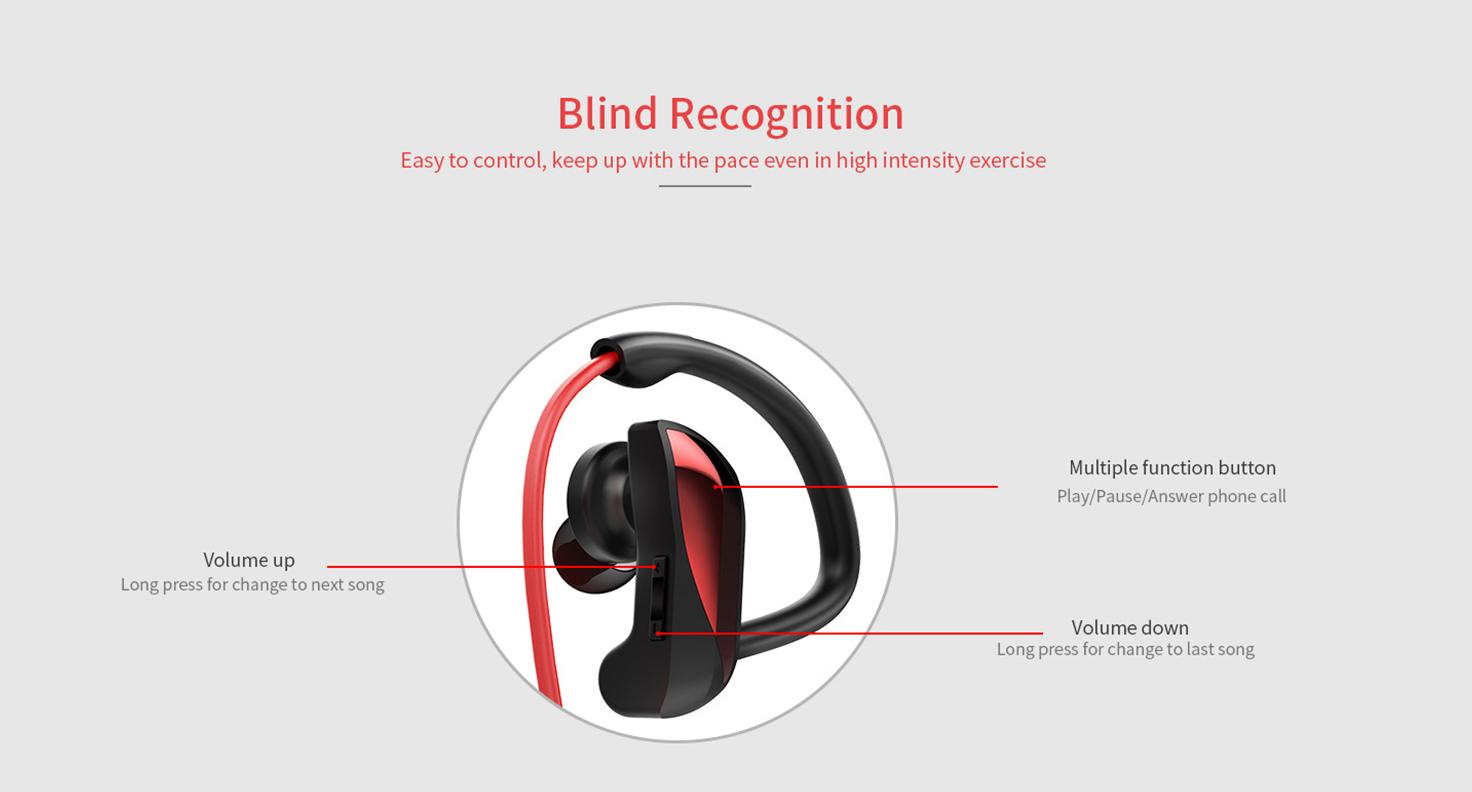joyroom waterproof sports earphone
