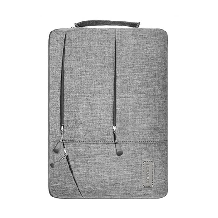 JOYROOM CY188 15 INCH EXQUISITE ZIPPER MULTI POCKET PORTABLE HANDHELD LAPTOP BAG FOR MACBOOK, LENOVO AND OTHER LAPTOPS (GREY)
