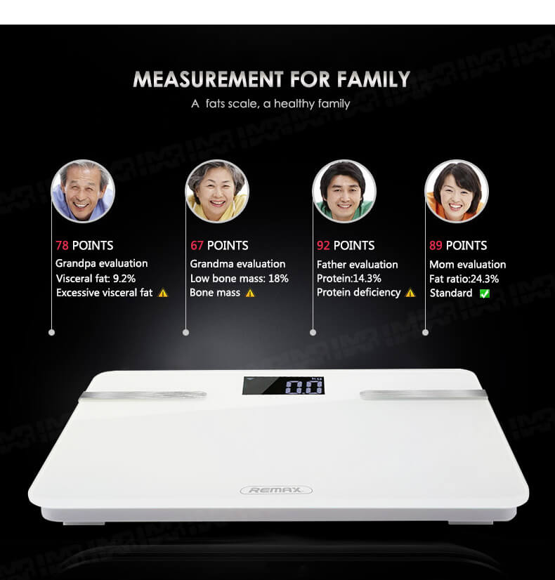 REMAX Body Intelligent Scale RT-S1 with Bluetooth