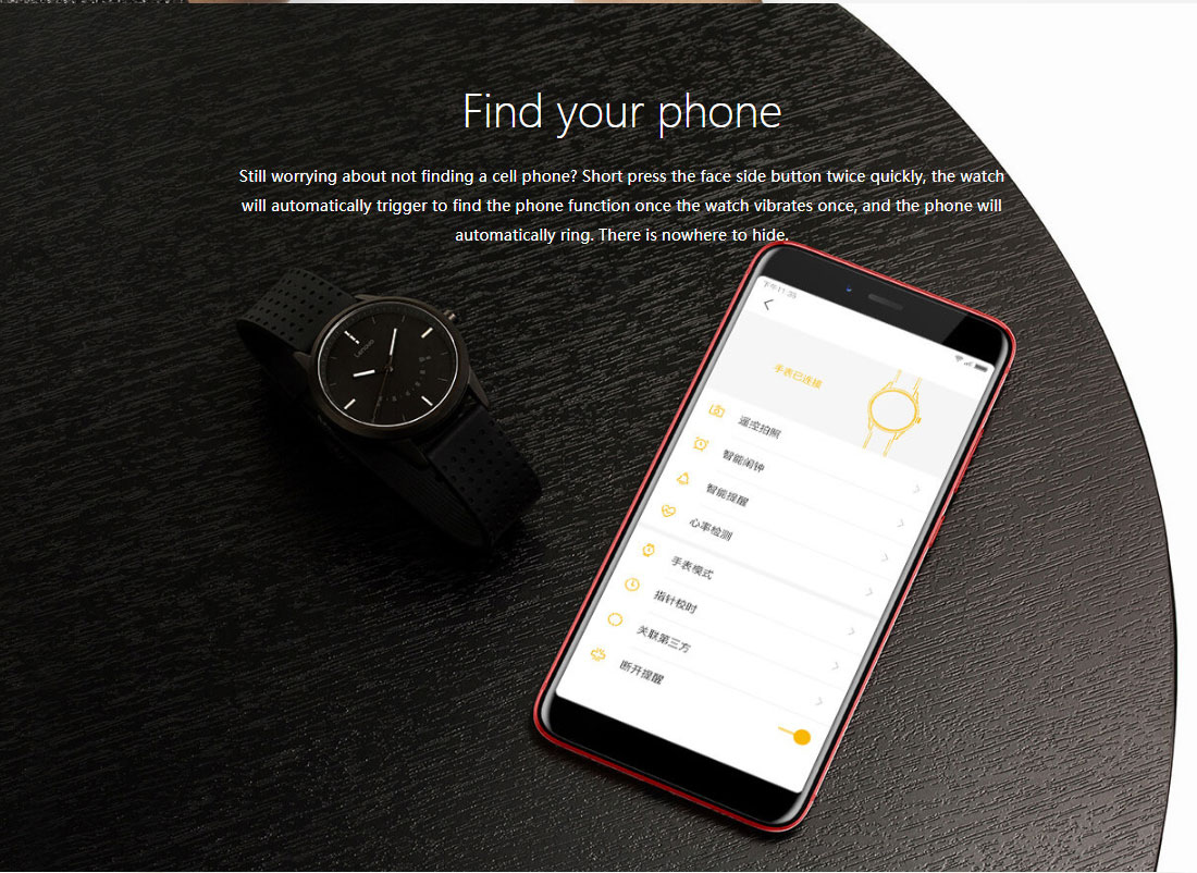 Lenovo Watch 9 Bluetooth Smartwatch Fitness Tracker Support iOS and Android