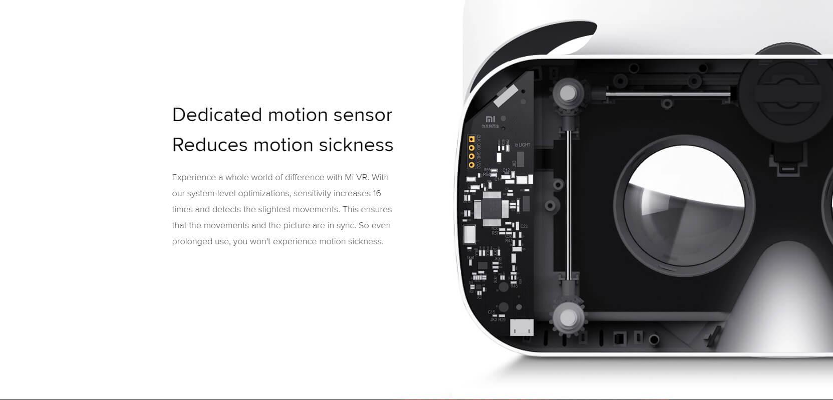 Original Xiaomi VR 3D Glasses with Remote Controller