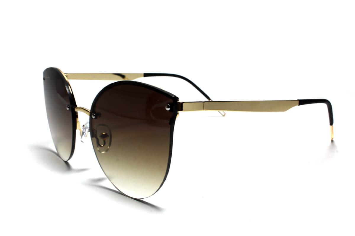 Dior Designer Cat Eye Sunglasses 2018 Silver Golden Brown