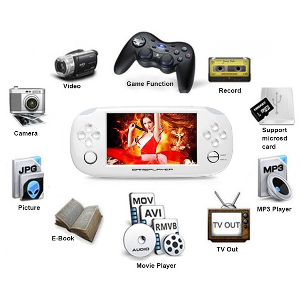 Handheld Video Game Console T850